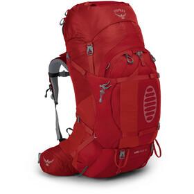 Osprey Ariel Plus 70 Backpack Women, rood